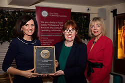 Clontarf Hospital (incorporated Orthopaedic Hospital of Ireland)<br /> 1.Eibhlin O'Leary. Training & Compliance Manager, Food Safety Authority of Ireland<br /> 2.Helena Reffell<br /> 3.Mary Daly. Chairperson, FSPA