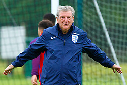 © Licensed to London News Pictures. 01/06/2016. London, UK. England's manager Roy Hodgson trains England team at Watford Training Ground on Wednesday, 1 June 2016, ahead of the Euro 2016 in France. Photo credit: Tolga Akmen/LNP
