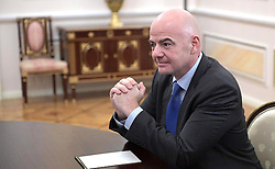 November 25, 2016 - Moscow, Russia - FIFA president Giovanni Infantino during a meeting with Russian President Vladimir Putin at the Kremlin November 25, 2016 in Moscow, Russia. (Credit Image: © Sergey Guneev/Planet Pix via ZUMA Wire)