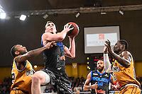 Darnell HARRIS / Joseph TRAPANI / Kevin HAMILTON - 07.12.2014 - Orleans / Rouen - 11eme journee de Pro A<br />Photo : Fred Porcu / Icon Sport