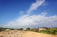 Hurricane damage in Gibara, Holguin, Cuba.