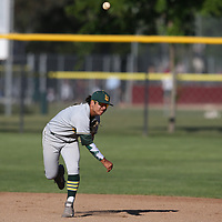 Live Oak vs Westmont in a BVAL Baseball Game at Westmont High School, Campbell CA on 4/20/18. (William Gerth/www.williamgerth.com)
