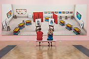 Inside it opens up as well by David Hockney - Royal Academy celebrates its 250th Summer Exhibition, and to mark this momentous occasion, the exhibition is co-ordinated by Grayson Perry RA.