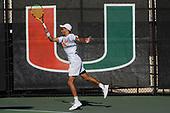 1/11/19 Men's Tennis @ Miami Spring Invite