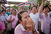 Thai Pink Shirts Demonstrate For Peace