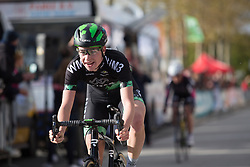 Riejanne Markus (NED) of WM3 Pro Cycling Team wins the Omloop van Borsele - a 107.1 km road race, starting and finishing in s'-Heerenhoek on April 22, 2017, in Borsele, the Netherlands.