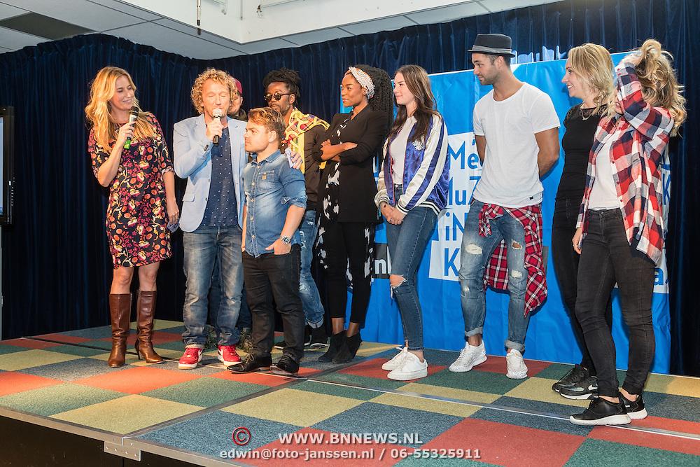 NLD/hoofddorp/20160923 - Kick-off' BZT Show + Méér Muziek in de Klas, alle ambassadeurs