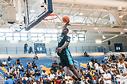 THOUSAND OAKS, CA Sunday, August 12, 2018 - Nike Basketball Academy. Patrick Williams 2019 #20 of West Charlotte HS dunks the ball. <br /> NOTE TO USER: Mandatory Copyright Notice: Photo by John Lopez / Nike