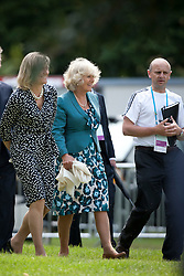 Camilla Duchess of Cornwall, Debbie Jevans (Director of Sport LOCOG), Tim Hadaway (Equestrian Competition Manager LOCOG)<br /> CIC2* Greenwich Park Eventing Invitational<br /> Olympic Test Event - London 2011<br /> © Dirk Caremans