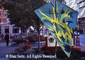 Harrisburg, PA, Sculpture Art Displays, Street Art, Cityscape
