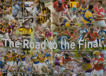 All Ireland Senior Hurling Championship - Final,.14092003AISHCF,.14.09.2003, 09.14.2003, 9th September 2003,.Senior Kilkenny 1-14, Cork 1-11,.Minor Kilkenny 2-16, Galway 2-15,.