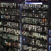 The HSBC headquarters in Hong Kong.