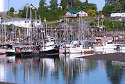 Wrangell. Small boat harbor. Alaska