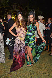 Left to right, SARAH ANN MACKLIN and ROSANNA FALCONER at The Animal Ball presented by Elephant Family held at Victoria House, Bloomsbury Square, London on 22nd November 2016.