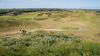 DOMBURG - Overzicht  van de Domburgsche Golf Club in Zeeland (Walcheren) .  Op de voorgrond hole 1. links het clubhuis.   COPYRIGHT KOEN SUYK