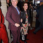 Opening Utrechts Filmfestival 2003, premiere Phileine zegt sorry, Matthijs van Heiningen en vrouw Guurtje Buddenberg