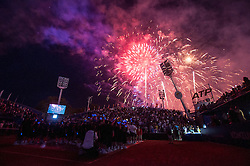 After final round of singles at 26. Konzum Croatia Open Umag 2015, on July 26, 2015, in Umag, Croatia. Photo by Urban Urbanc / Sportida