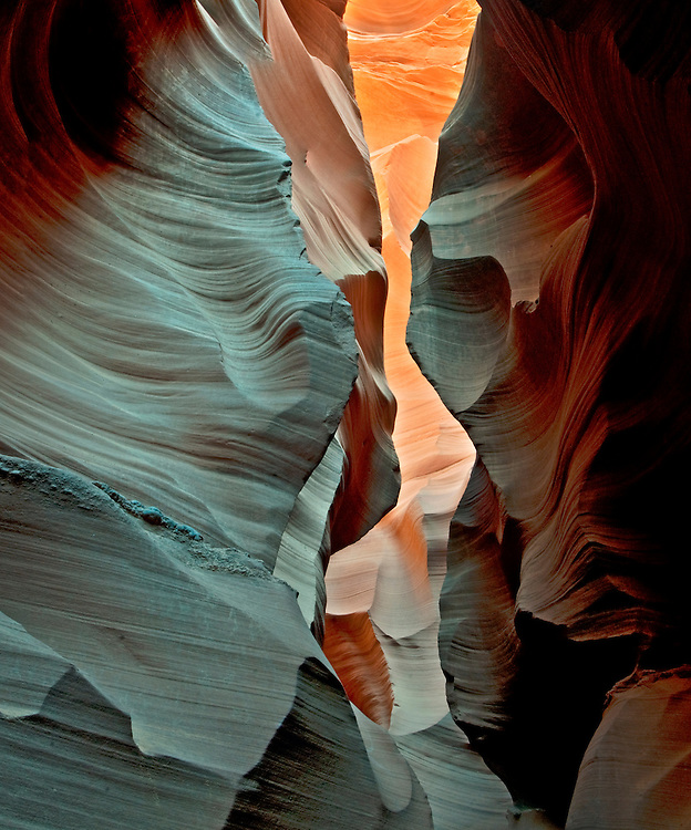 Antelope Canyon, Near Page Arizona, Navajo Nation, Fluid Shapes