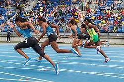 High School Girls Dream 100 meter dash, adidas Grand Prix Diamond League track and field meet