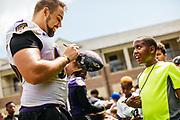 August 4, 2018<br /> Ravens Training Camp practice.