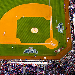 Aerial view of Citizens Bank Park, Game 4 2008 World Series, Philadelphia, PA vs Tampa Bay Rays