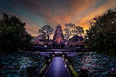 Pura Taman Saraswati, Ubud, Bali, Indonesia