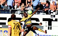 Fotball , 14. august 2016 , EIiteserien ,Tippeligaen , <br /> Strømsgodset - Start<br /> <br /> Jakob Glesnes , SIF<br /> Dennis Antwi , Start