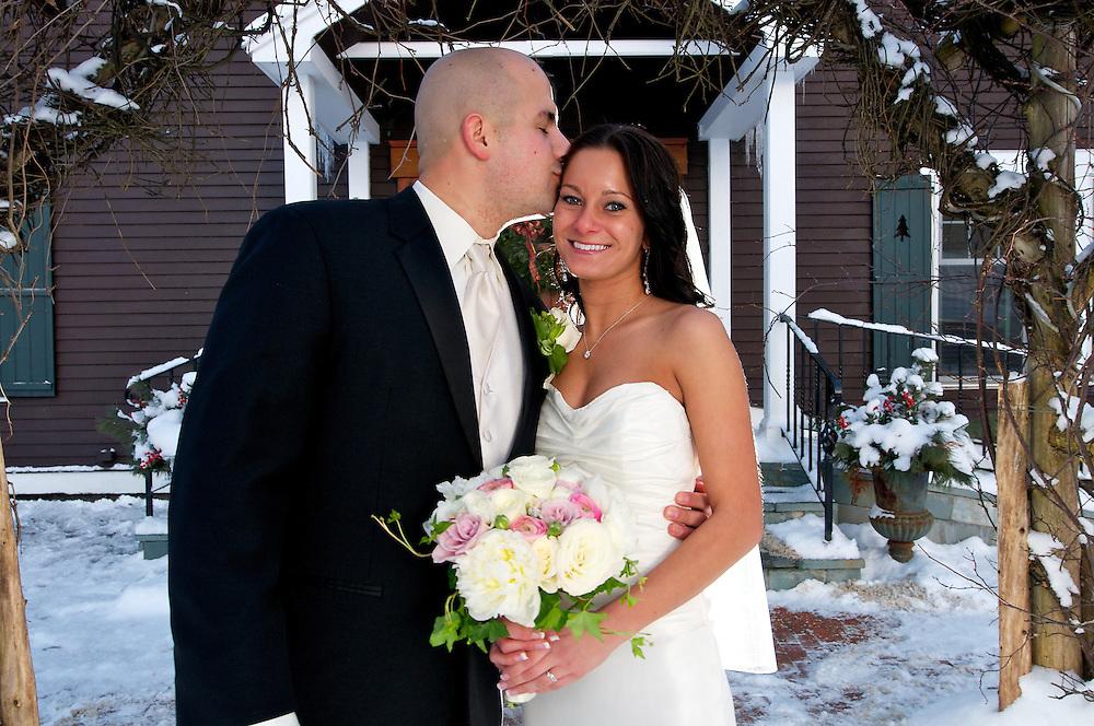 Winter wedding at the Mountain Top Inn Resort Chittenden, Vermont. Vermont Wedding Photographer Brian Jenkins Photography portfolio