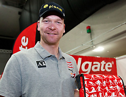 16.10.2010, Olympia Eisstadion, Innsbruck, AUT, OeSV Einkleidung 2010, im Bild Klaus Kröll bei Colgate, EXPA Pictures © 2010, PhotoCredit: EXPA/ J. Groder