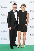 Nick Candy; Holly Valance, Novak Djokovic Foundation London gala dinner, The Roundhouse London UK, 08 July 2013, (Photo by Richard Goldschmidt)