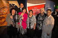 Te Rua o Te Moko Ltd are named winners of the Ahuwhenua Trophy, BNZ Maori Excellence in Farming award at a dinner held at Bay Park, Tauranga, New Zealand, 14 June 2014. Photo by John Cowpland / alphapix