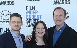 February 8, 2020, Los Angeles, California, United States: 2020 Film Independent Spirit Awards held at Santa Monica Pier..Featuring: Ben Howe, Caroline Kaplan, Luca Borghese.Where: Los Angeles, California, United States.When: 08 Feb 2020.Credit: Faye's VisionCover Images (Credit Image: © Cover Images via ZUMA Press)