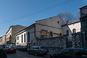Synagoga Kupa na ul Warszauera w Krakowie.<br /> Kupa synagogue on Warszauer Street in Cracow.