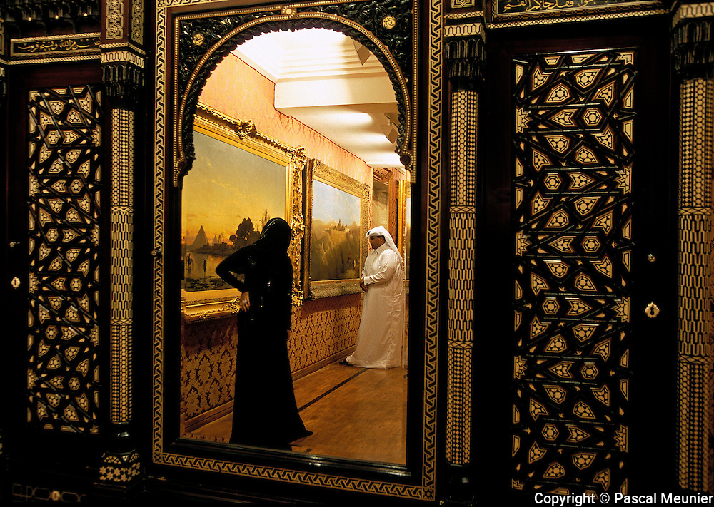 QATAR. Doha. Orientalist museum...The private orientalist museum, under the management of Qatar, holds some 700 works, having belonged to the collection of Sheik Hassan Al Thani, cousin of the Emir. You can see paintings by Cordier, Delacroix, Girardet, Fromentin?.