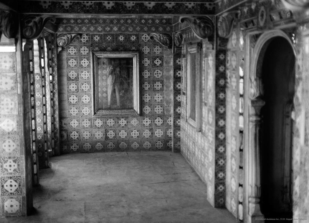 Balcony, Udaipur, India, 1929