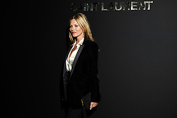 Kate Moss attends the Saint Laurent show as part of the Paris Fashion Week Womenswear Fall/Winter 2019/2020 on February 26, 2019 in Paris, France. Photo by Laurent Zabulon/ABACAPRESS.COM
