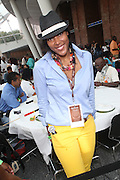 Melanie Young-lao at the 42nd Annual West Indian Day Carnival Reception co-sponsored by Hennessey, USA and held at The Brooklyn Museum along  on September 7, 2009 in Brooklyn, NY