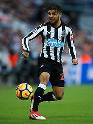 Deandre Yedlin of Newcastle United - Mandatory by-line: Matt McNulty/JMP - 11/02/2018 - FOOTBALL - St James Park - Newcastle upon Tyne, England - Newcastle United v Manchester United - Premier League