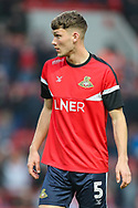 Doncaster Rovers defender Joe Wright (5) during the EFL Sky Bet League 1 second leg Play-Off match between Charlton Athletic and Doncaster Rovers at The Valley, London, England on 17 May 2019.