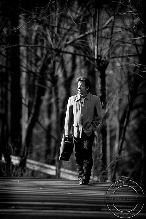 John Mellencamp photo shoot on Friday January 19 , 2007 in Bloomington, Indiana. ©Mark Cornelison