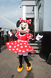 September 5, 2017 - New York, New York, U.S - Minnie Mouse visits the Empire State Building to kick off New York Fashion Week in New York. (Credit Image: © Bryan Smith via ZUMA Wire)