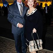 NLD/Amsterdam/20101007 - Europesche premiere Cirque du Soleil Totem, Marijke Helwegen en partner Harry
