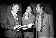 D945 - 1972 Michael Mac Liamoir  Book launch in Wichlow Hotel..Gus Smith and Des Hickey,s new book..24.07.1972