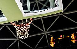 Ball during basketball match between KK Petrol Olimpija and KK Rogaska in Round #5 of Liga Nova KBM za prvaka 2018/19, on March 31, 2019, in Arena Stozice, Ljubljana, Slovenia. Photo by Masa Kraljic / Sportida