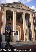 Southwest PA, Sculpture of Jimmy Stewart, City Hall and Jimmy Stewart Museum, Indiana, Pennsylvania