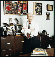 Portrait of David Rush. Successful inventor and entrepreneur.