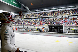 April 14, 2018 - Shanghai, China - Shanghai: Motorsports: Formula 1 2018 Heineken Chinese Grand Prix.Chinese Formula One Grand Prix Shanghai Circuit April 08, 2018 in Shanghai, China.#77 Valtteri Bottas (FIN, Mercedes AMG Petronas) (Credit Image: © Hoch Zwei via ZUMA Wire)