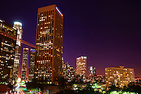 Downtown Los Angeles, Evening