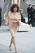 JOAN COLLINS, Celebration of the Arts. Royal Academy. Piccadilly. London. 23 May 2012.