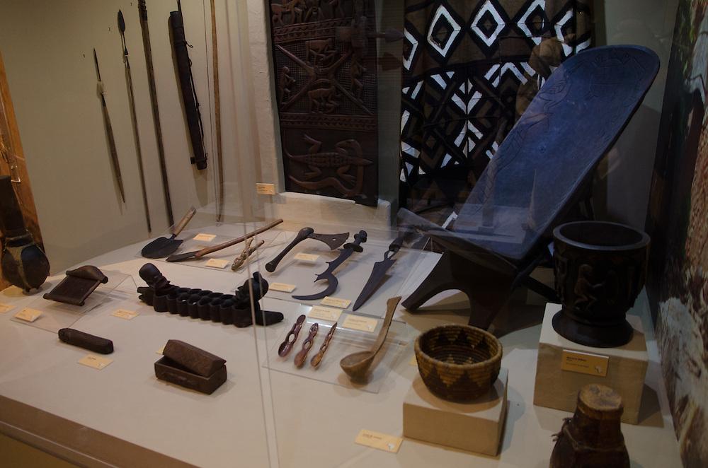 """2015/04/05-San Juan, Puerto Rico- Museo de Las Americas en el Cuartel de Ballaja en el Viejo San Juan. Exhibición """"La Herencia Africana"""".  The Museum of the Americas at Cuartel de Ballaja in Old San Juan. """"The African Heritage"""" exhibit."""
